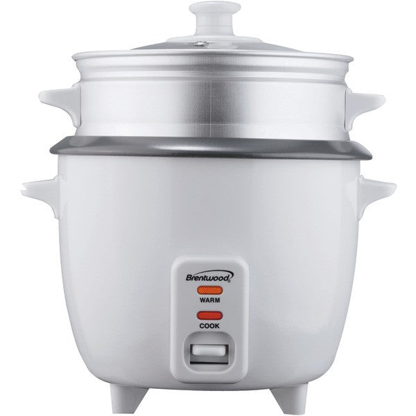 BRENTWOOD TS-600S Rice Cooker with Steamer (5 Cups, 400W) TS-600S