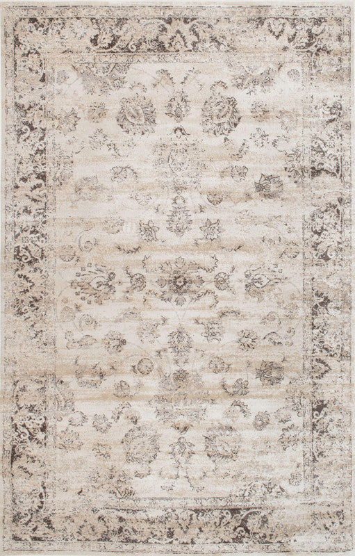 Nuloom Collection Ivory Viscose Shellie Area Rug Vintage