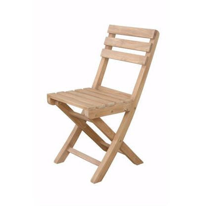 Anderson Teak CHF-2014 Alabama Folding Chair (Sold as a pair) - Peazz.com