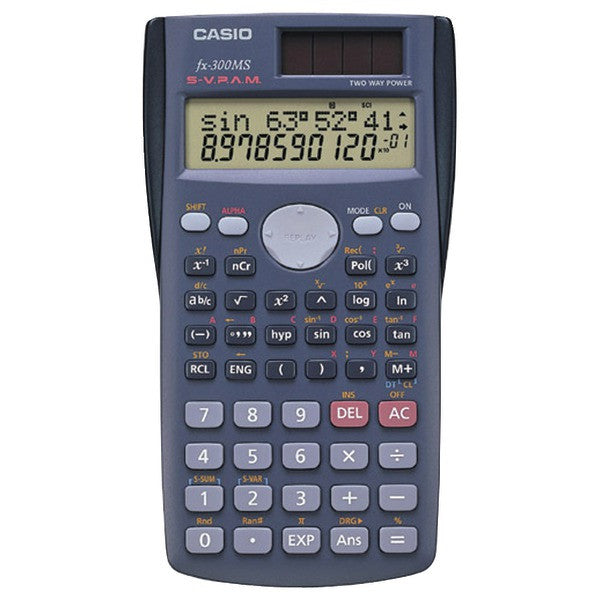 CASIO FX300-MS Scientific Calculator with 240 Built-in Functions