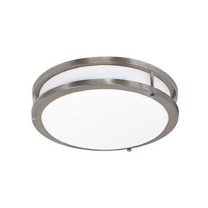 Jesco CM403S-30-BN Contemporary Round Led Ceiling & Ada Wall Mount