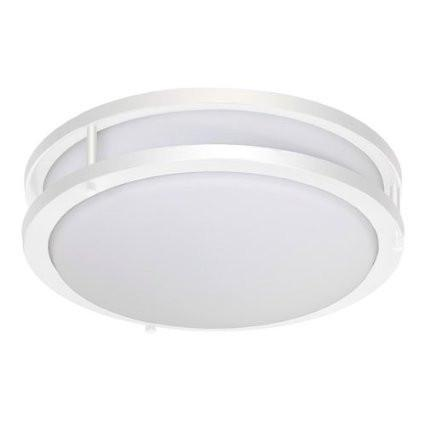 Jesco CM403S-30-WH Contemporary Round Led Ceiling & Ada Wall Mount