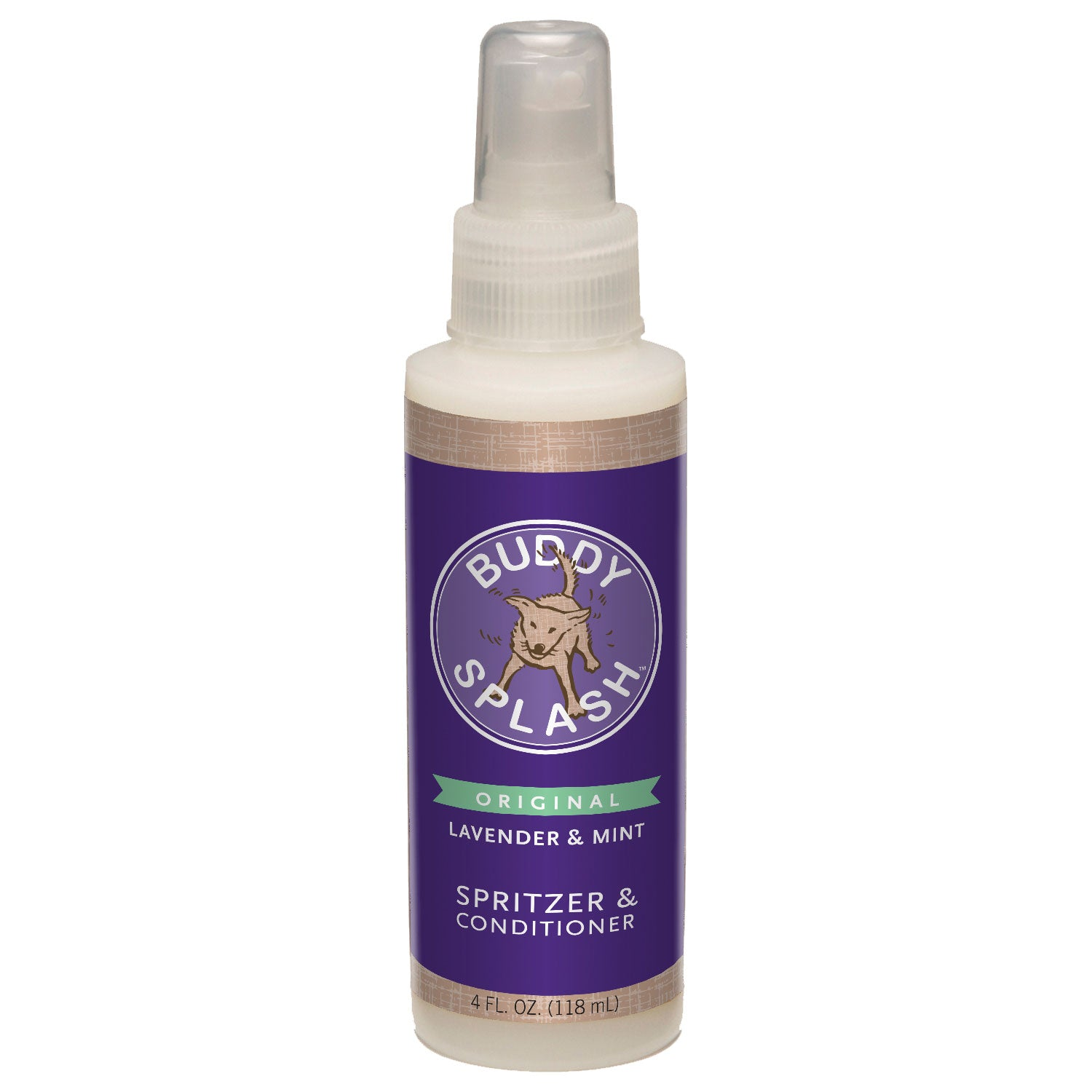 Buddy Splash Cs-15400 Lavender And Mint Spritzer And Conditioner 4 Ounces