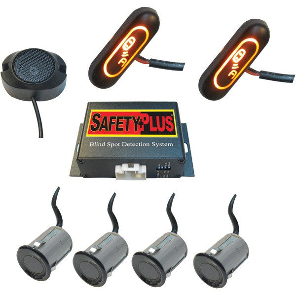 Crimestopper Security Products Bsd-754 Safetyplus Universal Front & Rear Blind Spot Detection System