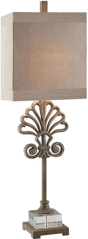 Crestview Collection CVAER488 Soventry Buffet Lamp 12/8 X 12/8 X 13
