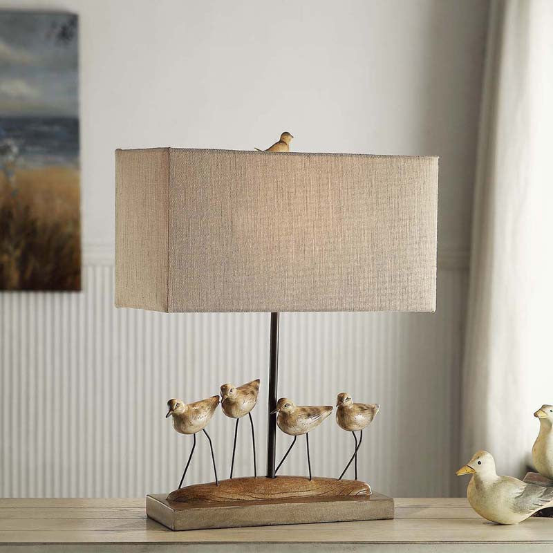 Crestview Collection CVAVP384 Shore Birds Table Lamp 8/17 X 8/17 X 9