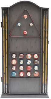 Crestview Collection CVFZR458 Pool Table Cabinet 18W X 9D