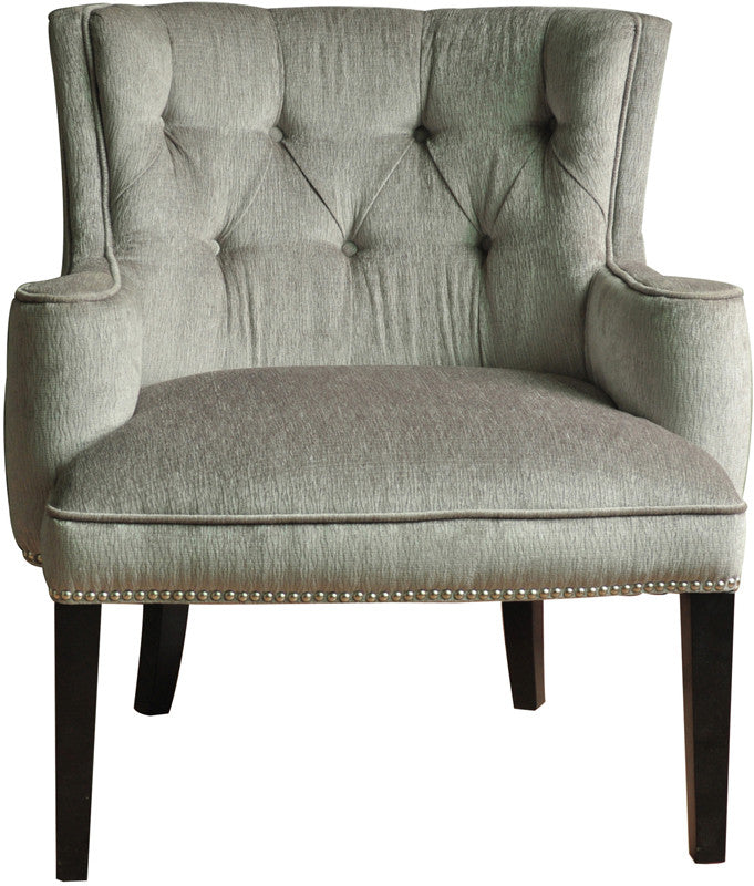 Crestview Ave Textured Silver Chair Fifth