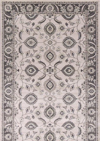 "KAS Rugs Chandler 4902 Grey Traditions Machine-Woven 100% Polypropelene 6'6"" x 9'6"""