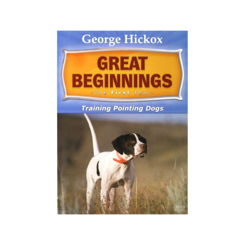 D.T. Systems D011 Great Beginning: The First Year- Pointing Dogs DVD
