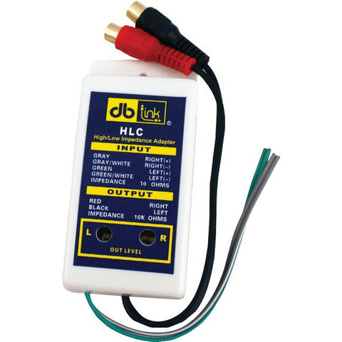 DB Link HLCB High/Low Converters with Adjustable Output Level, 10 pk - Peazz.com