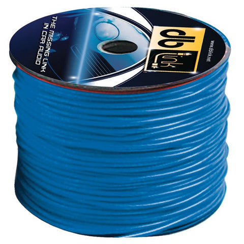 DB Link RW18BL500Z Primary Remote Wire, 500ft (Blue) - Peazz.com