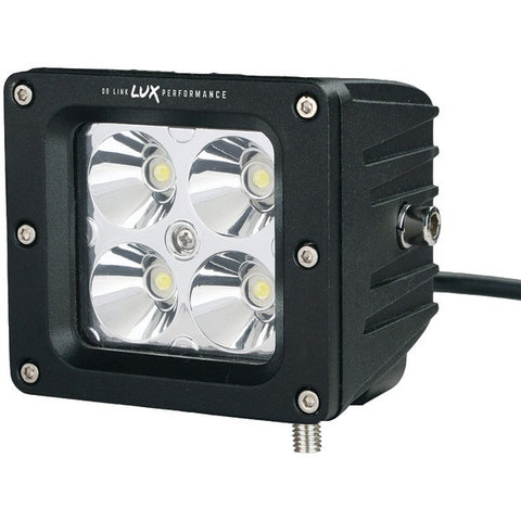 "DB Link DBLXW3.0S Lux Performance 3"" 1,550-Lumen 5-Watt LEDs x 4 Square LED Spot Light - Peazz.com"