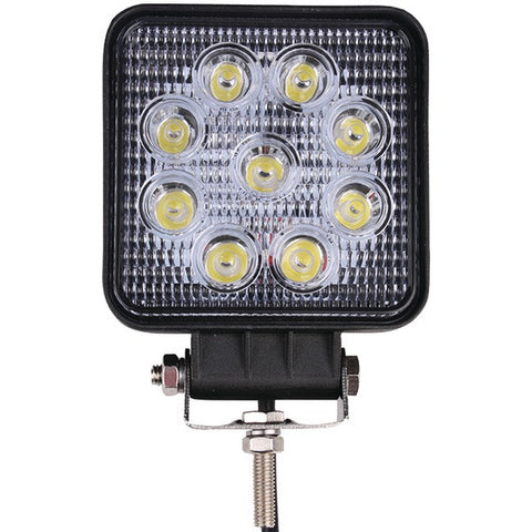 "DB Link DBLXW4.0S Lux Performance Square LED Flood Work Light (4"", 3-Watt LEDs x 9, 1,550 Lumens) - Peazz.com"