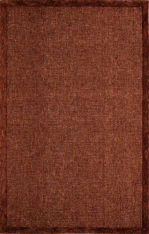Momeni DELHIDL-65RST80A0 Indian Hand Tufted Delhi Collection Rust Finish Rugs