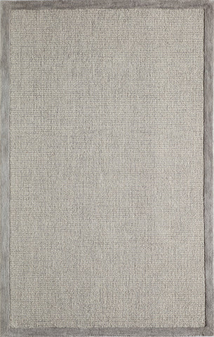 Momeni DELHIDL-65SVL5080 Indian Hand Tufted Delhi Collection Silver Finish Rugs