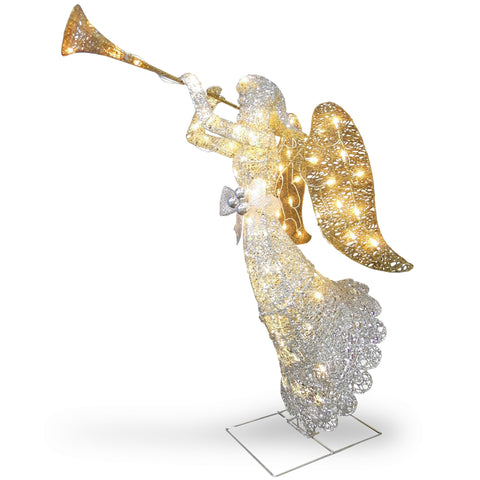"National Tree DF-070005U 48"" Crystal Angel"