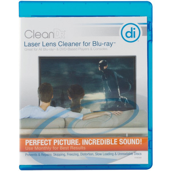 Digital Innovations 4190300 CleanDr for Blu-ray Laser Lens Cleaner PTR-DGI4190300