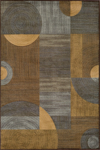 Momeni DREAMDR-01BRN93C6 Turkish Machine Made Dream Collection Brown Finish Rugs