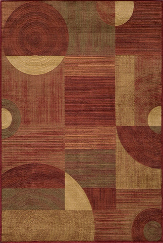 Momeni DREAMDR-01RED93C6 Turkish Machine Made Dream Collection Red Finish Rugs