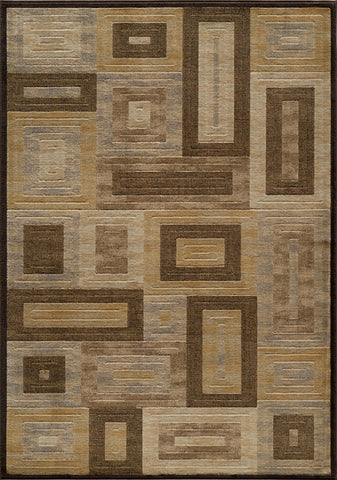 Momeni DREAMDR-02BRN3B57 Turkish Machine Made Dream Collection Brown Finish Rugs