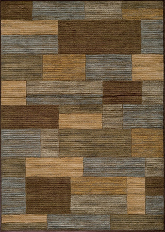 Momeni DREAMDR-04BRN3B57 Turkish Machine Made Dream Collection Brown Finish Rugs