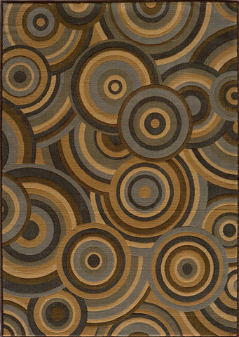 Momeni DREAMDR-05BRN3B57 Turkish Machine Made Dream Collection Brown Finish Rugs