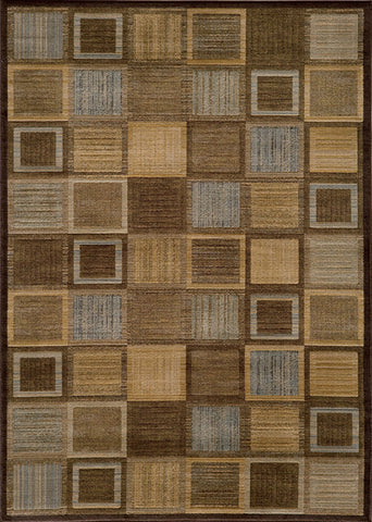Momeni DREAMDR-07BRN5376 Turkish Machine Made Dream Collection Brown Finish Rugs
