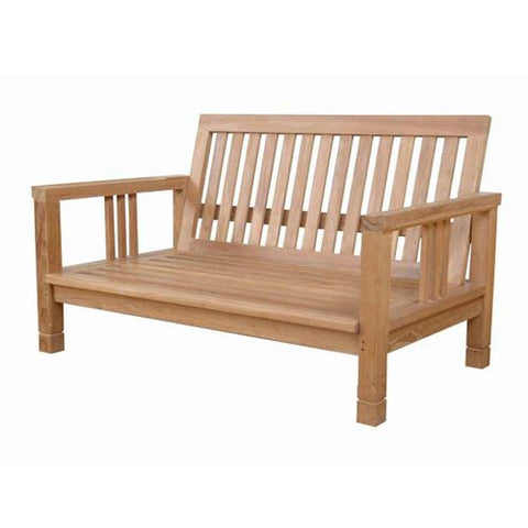 Anderson Teak DS-3012 South Bay Deep Seating Love Seat - Peazz.com