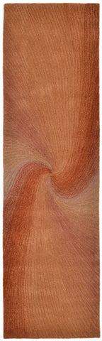 Trans-Ocean Imports DUNR8910227 Dunes Collection Rust Finish Indoor Rug - Peazz.com