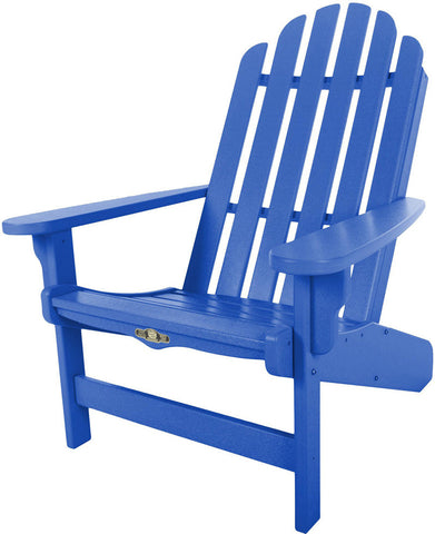 Pawleys Island Hammocks DWAC1BLU Essentials Adirondack Chair-Blue (W 30.5 x H 39 in.) - Peazz.com - 1