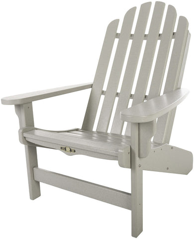 Pawleys Island Hammocks DWAC1GRY Essentials Adirondack Chair-Gray (W 30.5 x H 39 in.) - Peazz.com