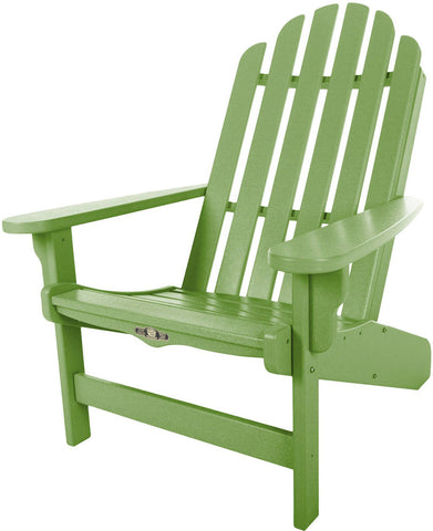 Pawleys Island Hammocks DWAC1LM Essentials Adirondack Chair-Lime (W 30.5 x H 39 in.) - Peazz.com