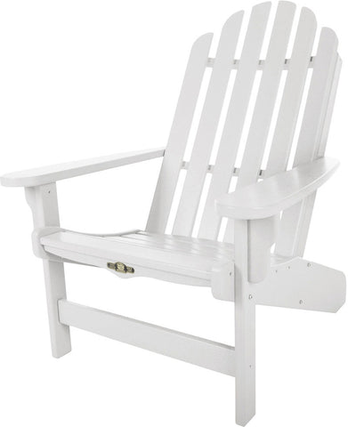 Pawleys Island Hammocks DWAC1WH Essentials Adirondack Chair-White (W 30.5 x H 39 in.) - Peazz.com