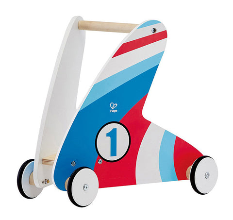 Hape Step & Stroll - Racing Stripes E0377 Push & Pull