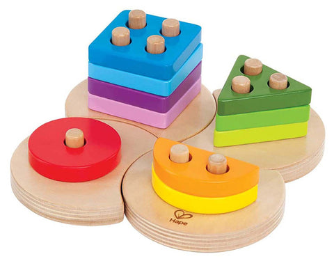 Hape Geometric Sorter  E0415 Early Explorer