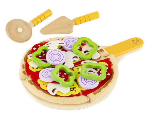 Hape Homemade Pizza E3129 Playfully Delicious