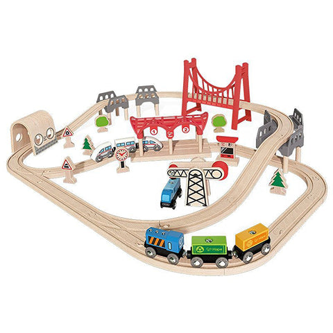Hape Medium-sized Set E3712A Railway System