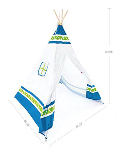 Hape Teepee Tent,Blue E4308 Outdoor