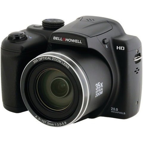 Bell+Howell B35HDZ 20.0-Megapixel B35HDZ Digital Camera with 35x Optical Zoom - Peazz.com