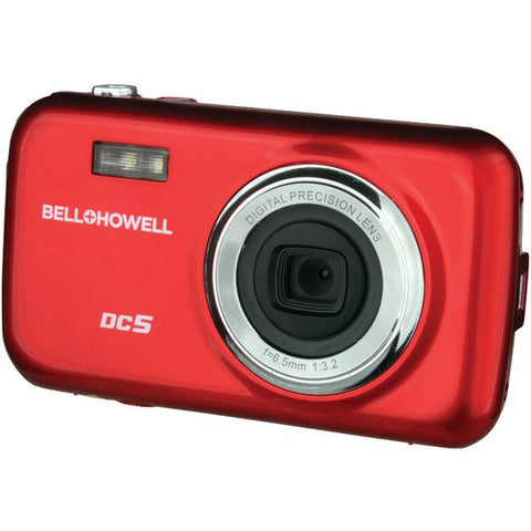 Bell+Howell DC5-R 5.0-Megapixel Fun-Flix Kids Digital Camera (Red) - Peazz.com