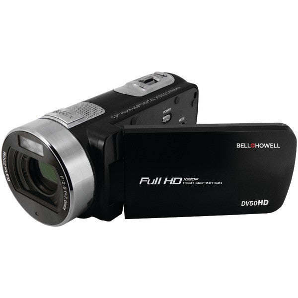 Bell+howell Dv50hd-bk 20.0-megapixel 1080p Dv50hd Fun-flix Camcorder (black)