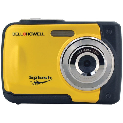 Bell+Howell WP10-Y 12.0-Megapixel WP10 Splash Waterproof Digital Camera (Yellow) - Peazz.com