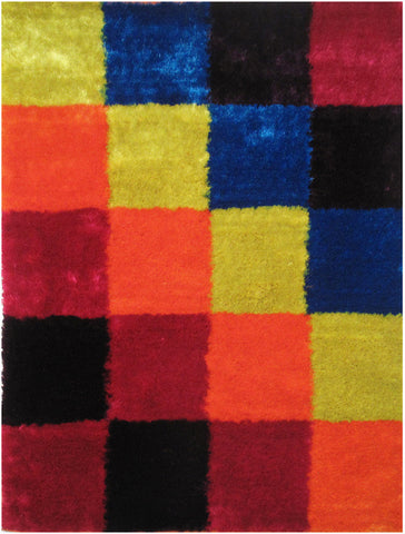 LA Rug ES-22-39X58 Exotic Collection Multi-Color - Peazz.com