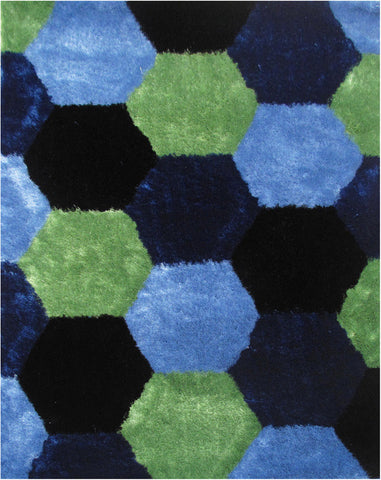 LA Rug ES-26-39X58 Exotic Collection Multi-Color - Peazz.com