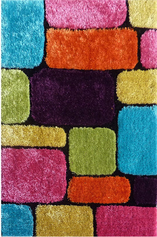 LA Rug ES-48-39X58 Exotic - New Collection Multi-Color - Peazz.com