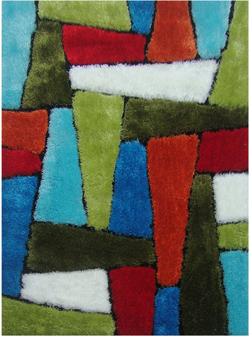 LA Rug ES-64-39X58 Exotic - New Collection Multi-Color - Peazz.com