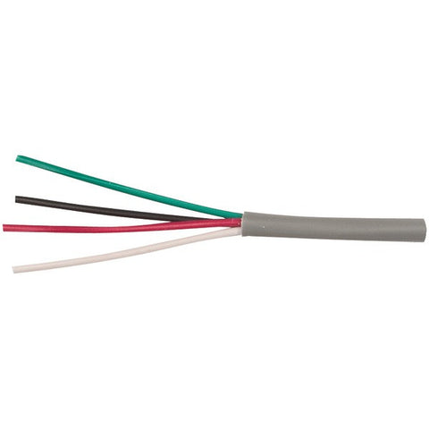 Ethereal 22-4-SD-GY 22-Gauge, 4-Conductor Solid Cable, 500ft Speed Bag (Gray) - Peazz.com