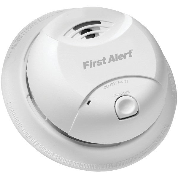 First Alert 0827B 10-Year Sealed-Battery Ionization Smoke Alarm PTR-FAT0827B