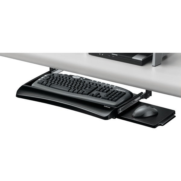 Compare Compucessory Underdesk Keyboard 2 4 Black